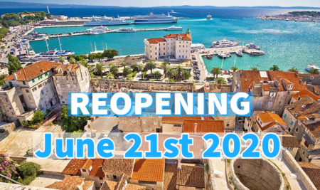 REOPENING – JUNE 21st 2020